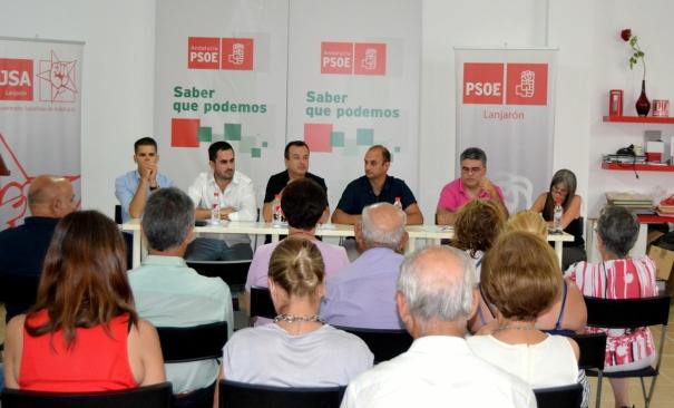 Foto Acto PS Lanjarón